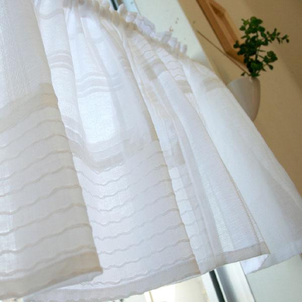 【メール便送料無料】パッチワークカフェカーテンS:オフ【120cm幅×45cm丈】【ナチュラル特集】