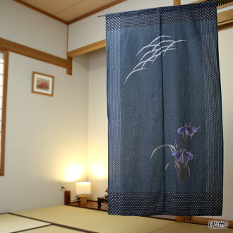 Goodwill: sashiko IRIS: noren (shop curtain)