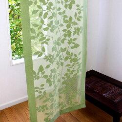 アクセントリーフ【65cm幅×175cm丈】:アクセントカーテン