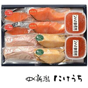 【月間優良ショップ】【高級 ギフト】SEP80 逸品詰合せ...新潟の伝統製法 干した 鮭 切り身など 魚 父の日 贈物