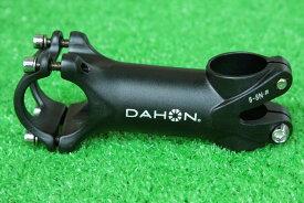 【即納】ダホン 純正 DAHON アルミ6061 軽量 ステム 150g 31.8/90mm +-7度 3D鍛造 アルミ合金 ALL6061 ブラック★自転車 自転車パーツ