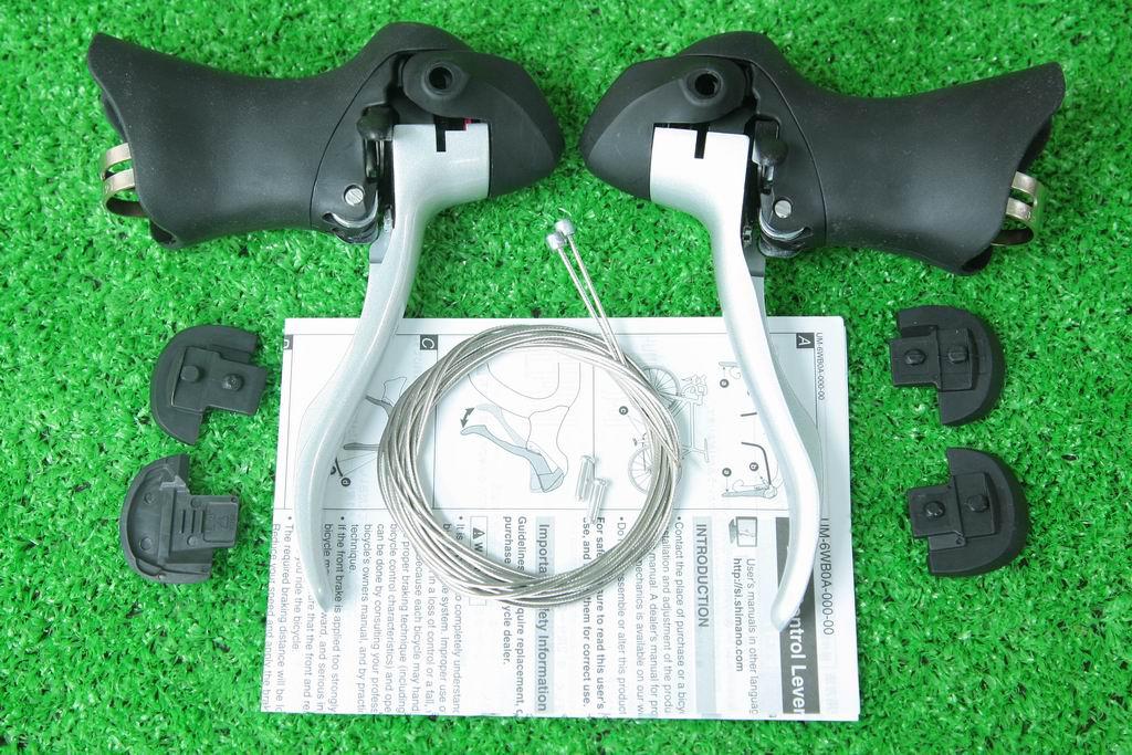 【即納】シマノ(SHIMANO) STIレバー ST-2300 R/L 2x8速 兼用レバー フロントx2s リアx8s デュアルコントロールレバーダブル用 左右セット
