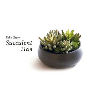 人工観葉植物 フェイクグリーン 観葉植物 造花 多肉植物 陶器鉢付 卓上 小型 フェイク グリーン インテリア おしゃれ お祝い 父の日