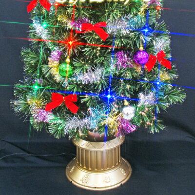 クリスマスツリーファイバーツリーセット150cm