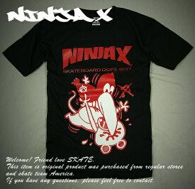 NINJA X(ニンジャエックス)no-life(ノーライフ)オリジナル Tシャツ 2013 Originall T-Shirt Black Original DIBORCE/Fuck you too スケボー SKATE SK8 スケートボード HARD CORE PUNK ハードコア パンク HIPHOP ヒップホップ SURF サーフ レゲエ reggae スノボー