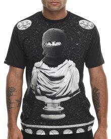 CROOKS & Castles(クルックス アンド キャッスルズ)Tシャツ OPULENCE T-Shirt Black スケボー SKATE SK8 スケートボード HARD CORE PUNK ハードコア パンク HIPHOP ヒップホップ SURF サーフ レゲエ reggae スノボー スノーボード Snowboard NINJA X