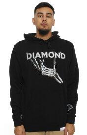 Diamond supply(ダイヤモンドサプライ)パーカー プルオーバー Supply, Styx & Stones Pullover Hoodie Black スケボー SKATE SK8 スケートボード HARD CORE PUNK ハードコア パンク HIPHOP ヒップホップ SURF サーフ レゲエ reggae スノボー スノーボード Snowboard NINJA X