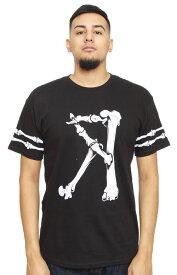 ROOK(ルーク)Tシャツ Bone Yard T-Shirt Bone Yard T-Shirt Black スケボー SKATE SK8 スケートボード HIPHOP ヒップホップ SURF サーフ スノボー スノーボード Snowboard NINJA X