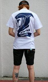 NINJA X × 2yang(ニンジャエックス×ツーヤン)Tシャツ 1★狂 国際Boyz 2013 Original T-Shirts White スケボー SKATE SK8 スケートボード HARD CORE PUNK ハードコア パンク HIPHOP ヒップホップ SURF サーフ レゲエ reggae スノボー スノーボード Snowboard NINJA X