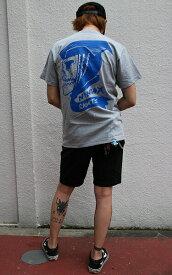 NINJA X × 2yang(ニンジャエックス×ツーヤン)コラボ Tシャツ 1★狂 国際Boyz 2013 Original T-Shirts Grey スケボー SKATE SK8 スケートボード HARD CORE PUNK ハードコア パンク HIPHOP ヒップホップ SURF サーフ レゲエ reggae スノボー スノーボード Snowboard NINJA X