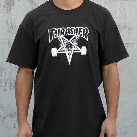 Thrasher Magazine(US企画)Tシャツ スラッシャー Skategoat T-Shirt Black スケボー SKATE SK8 スケートボード HARD CORE PUNK ハードコア パンク HIPHOP ヒップホップ SURF サーフ スノボー スノーボード Snowboard NINJA X