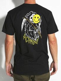 ALTAMONT × RYAN ADY PUTRA(オルタモント)Tシャツ Saytan T-Shirt Black スケボー SK8 スケートボード HARD CORE PUNK ハードコア パンク HIPHOP ヒップホップ SURF サーフ スノボー スノーボード Snowboard NINJA X
