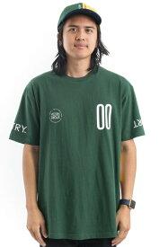 10 Deep Tシャツ 半袖 テンディープ Keelhaul T-Shirt Green スケボー SKATE SK8 スケートボード HARD CORE PUNK ハードコア パンク HIPHOP ヒップホップ SURF サーフ スノボー スノーボード Snowboard NINJA X