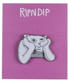 RIPNDIP ピンバッジ ネコ 猫 ピンズ リップンディップ Stoner Pin スケボー SKATE SK8 スケートボード HARD CORE PUNK ハードコア パンク HIPHOP ヒップホップ SURF サーフ レゲエ reggae スノボー スノーボード Snowboard NINJA X