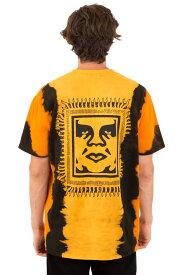 OBEY(オベイ)Tシャツ Obey Tribal People T-Shirt Gold スケボー SKATE SK8 スケートボード HARD CORE PUNK ハードコア パンク HIPHOP ヒップホップ SURF サーフ レゲエ reggae スノボー スノーボード Snowboard NINJA X