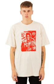 OBEY x Misfitsf(オベイ×ミスフィッツ)Tシャツ Show Flyer T-Shirt Natural スケボー SKATE SK8 スケートボード HARD CORE PUNK ハードコア パンク HIPHOP ヒップホップ SURF サーフ レゲエ reggae スノボー