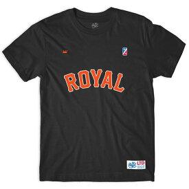 ROYAL TRUCKS(ロイヤルトラックス)Tシャツ Giants Tee Black MLB San Francisco Giants(サンフランシスコ・ジャイアンツ)スケボー SKATE SK8 スケートボード HARD CORE PUNK ハードコア パンク HIPHOP ヒップホップ SURF サーフ レゲエ reggae スノボー スノーボード