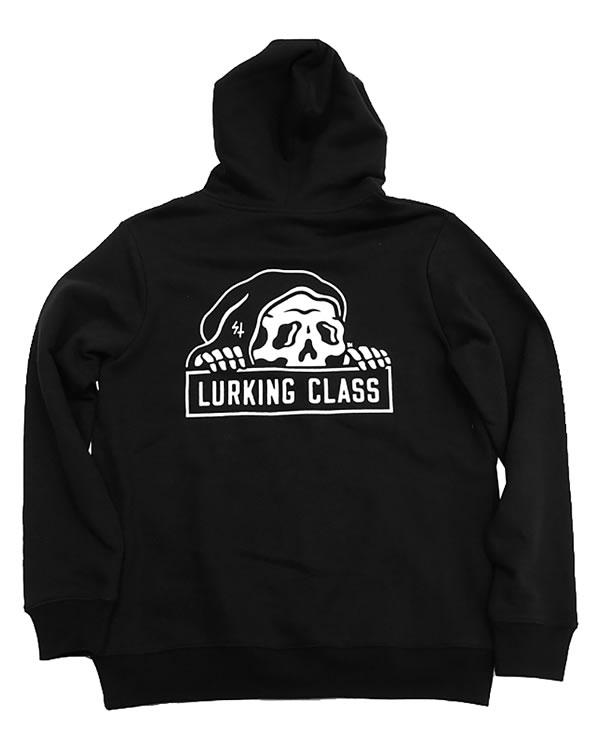 LURKING CLASS(ラーキングクラス)SKETCHY TANK パーカー フード プルオーバー LC HOOD BLACK スケボー SKATE SK8 スケートボード PUNK パンク HIPHOP ヒップホップ SURF サーフ スノボー スノーボード Snowboard NINJA X