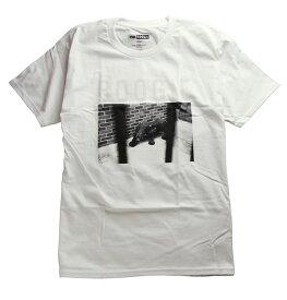 Visual(ヴィジュアル×ブギー)Tシャツ V/SUAL X BOOGIE Caged Tee White スケボー