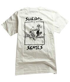 Suicidal Skates(スーサイダルスケート)Tシャツ Suicidal Tendencies Lance Mountain Skull T-Shirt White スーサイダルテンデンシーズ スケボー SKATE SK8 スケート HARD CORE PUNK ハードコア パンク HIPHOP ヒップホップ SURF サーフ レゲエ reggae スノボー Snowboard