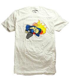 Duck Down Music(ダックダウン)Tシャツ Running Man T-Shirt White ブーキャン Boot Camp Clik(ブート・キャンプ・クリック) HIPHOP ヒップホップ