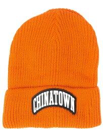 Chinatown Market(チャイナタウンマーケット)ニットキャップ 帽子 ビーニー 3M Arch Beanie Orange スケボー SKATE SK8 スケートボード HARD CORE PUNK ハードコア パンク HIPHOP ヒップホップ SURF サーフ レゲエ reggae スノボー スノーボード Snowboard NINJA X