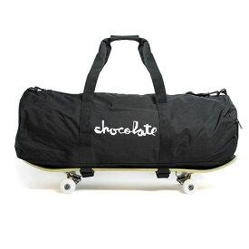 Chocolate Skateboards(チョコレート)ダッフルバッグ 旅行カバン Chunk Skate Carrier Duffel Bag Backpack Black スケボー SK8 スケートボード HARD CORE PUNK ハードコア パンク HIPHOP ヒップホップ SURF サーフ スノボー スノーボード Snowboard NINJA X