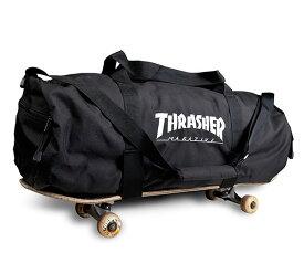 Thrasher Magazine(スラッシャー)(US企画)スケートバッグ ボストンバッグ 旅行鞄 カバン Skatebag Logo Duffle Bag スケボー SKATE SK8 スケートボード HARD CORE PUNK ハードコア パンク HIPHOP ヒップホップ SURF サーフ レゲエ reggae スノボー スノーボード Snowboard