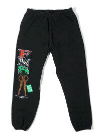 40s & Shorties(フォーティーズアンドショーティーズ)スウェットパンツ FNS Posse Sweatpants Black スケボー SKATE SK8 スケートボード HARD CORE PUNK パンク HIPHOP ヒップホップ SURF サーフ レゲエ reggae スノボー スノーボード