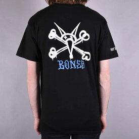 Powell Peralta(パウエル・ペラルタ)Tシャツ Rat Bones T-Shirt Black スケボー SK8 スケートボード HARD CORE PUNK ハードコア パンク HIPHOP ヒップホップ SURF サーフ スノボー スノーボード Snowboard NINJA X
