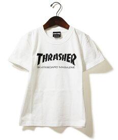 Thrasher(スラッシャー)キッズ Tシャツ 子供 Kids Mag Logo T-Shirt White JP企画 カジュアル ストリート スケボー SKATE SK8 スケートボード HARD CORE PUNK ハードコア パンク HIPHOP ヒップホップ SURF サーフ レゲエ reggae スノボー スノーボード Snowboard NINJA X