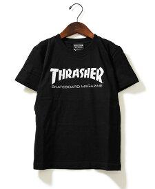 Thrasher(スラッシャー)キッズ Tシャツ 子供 Kids Mag Logo T-Shirt Black JP企画 カジュアル ストリート スケボー SKATE SK8 スケートボード HARD CORE PUNK ハードコア パンク HIPHOP ヒップホップ SURF サーフ レゲエ reggae スノボー スノーボード Snowboard NINJA X