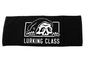 LURKING CLASS(ラーキングクラス)フェイスタオル 今治タオル Copro Towel Black SKETCHY TANK(スケッチータンク)メンズ カジュアル ストリート スケボー SKATE SK8 スケートボード PUNK パンク HIPHOP ヒップホップ SURF サーフ スノボー スノーボード