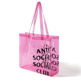 AntiSocialSocialClub (アンチソーシャルソーシャルクラブ) ビーチ カバン バッグ トートバッグ ICRIGHTHRUYOU Pink カジュアル ストリート スケボー SKATE SK8 PUNK パンク HIPHOP ヒップホップ SURF サーフ レゲエ
