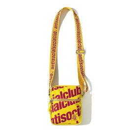 AntiSocialSocialClub (アンチソーシャルソーシャルクラブ) ミニ ショルダーバッグ カバン Belong 2 You Yellow Sidebag カジュアル ストリート スケボー SKATE SK8 スケートボード HARD CORE PUNK ハードコア パンク HIPHOP ヒップホップ SURF サーフ レゲエ reggae