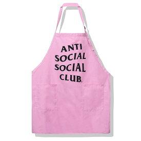 AntiSocialSocialClub (アンチソーシャルソーシャルクラブ) エプロン Splatter Apron Pink OUTDOOR アウトドア キッチン バーベキュー BBQ 作業 DIY カジュアル ストリート スケボー SKATE SK8 スケートボード HARD CORE PUNK パンク HIPHOP ヒップホップ SURF サーフ レゲエ