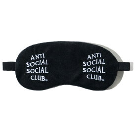 AntiSocialSocialClub (アンチソーシャルソーシャルクラブ) アイマスク 目隠し Offline Black Mask カジュアル ストリート スケボー SKATE SK8 スケートボード HARD CORE PUNK ハードコア パンク HIPHOP ヒップホップ SURF サーフ レゲエ reggae スノボー スノーボード