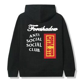 AntiSocialSocialClub (アンチソーシャルソーシャルクラブ) パーカー プルオーバー CPFM x ASSC Black Hoodie メンズ カジュアル ストリート スケボー SKATE SK8 スケートボード HARD CORE PUNK ハードコア パンク HIPHOP ヒップホップ SURF サーフ レゲエ reggae スノボー