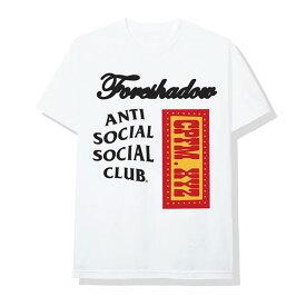 AntiSocialSocialClub (アンチソーシャルソーシャルクラブ) Tシャツ CPFM x ASSC White Tee メンズ カジュアル ストリート スケボー SKATE SK8 スケートボード HARD CORE PUNK ハードコア パンク HIPHOP ヒップホップ SURF サーフ レゲエ reggae スノボー