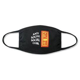 AntiSocialSocialClub (アンチソーシャルソーシャルクラブ) マスク 布マスク フェイスマスク CPFM x ASSC Mask Black カジュアル ストリート スケボー SKATE SK8 スケートボード HARD CORE PUNK ハードコア パンク HIPHOP ヒップホップ SURF サーフ レゲエ reggae スノボー