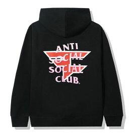 AntiSocialSocialClub (アンチソーシャルソーシャルクラブ) パーカー プルオーバー ASSC x FaZe Clan Black Hoodie e-Sports eスポーツ GAME ゲーム メンズ カジュアル ストリート スケボー SKATE SK8 スケートボード HARD CORE PUNK ハードコア パンク HIPHOP ヒップホップ