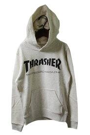 Thrasher (スラッシャー) キッズパーカー プルオーバー 子供 MAG LOGO HOOD Off White スケボー SKATE SK8 スケートボード HARD CORE PUNK ハードコア パンク HIPHOP ヒップホップ レゲエ reggae スノボー スノーボード Snowboard NINJA X