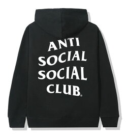 AntiSocialSocialClub (アンチソーシャルソーシャルクラブ) パーカー プルオーバー Mind Games Hoodie Black