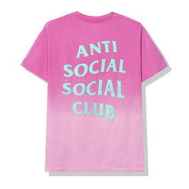 AntiSocialSocialClub (アンチソーシャルソーシャルクラブ) Tシャツ Gone Pink Tee メンズ カジュアル ストリート スケボー SKATE SK8 スケートボード HARD CORE PUNK ハードコア パンク HIPHOP ヒップホップ SURF サーフ レゲエ reggae スノボー スノーボード