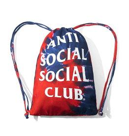 AntiSocialSocialClub (アンチソーシャルソーシャルクラブ) ナップサック リュック カバン Estilo Hippie Tie Dye Blue Bag カジュアル ストリート スケボー SKATE SK8 スケートボード HARD CORE PUNK ハードコア パンク HIPHOP ヒップホップ