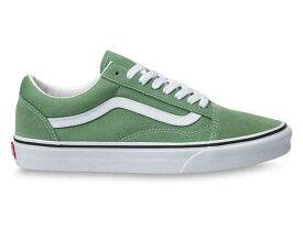 Vans (バンズ) スニーカー シューズ オールドスクール Old Skool Shoes Shale Green キャンバス スケボー SKATE SK8 スケートボード
