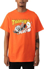 Thrasher (スラッシャー) US Tシャツ 40 Years Neckface T-Shirt Orange スケボー SKATE SK8 スケートボード