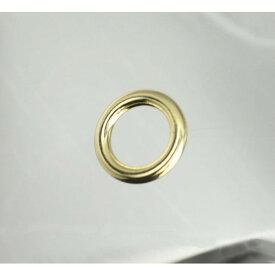 丸カン わんこ ゴールド 12mm 内径 約12ミリ 線径約3.4mm 金具 内径 日本製 国産 最高級品 ペット 耐荷重 mm 個 頑丈 丈夫 犬具