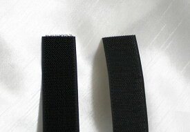 マジックテープ 20mm幅 縫製タイプ 1m 黒 AB面セット 送料無料 1000円 ネコポス速達便 両面テープ 結束バンド 靴 バンド ベルト 財布 スニーカー 地下足袋 強力