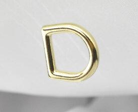 Dカン わんこDカン 犬 10mm 内径10ミリ ゴールド ワンちゃん 犬 わんこ 金具 首輪 手芸 クラフト 日本製 最高級品 国産 金色 線径3mm ペット